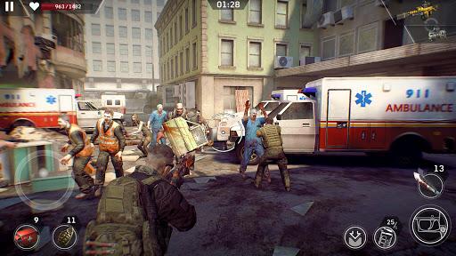Left to Survive: Apocalypse & Dead Zombie Shooter screenshot 1
