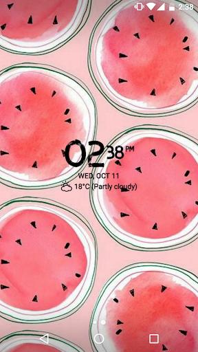 Digital Clock Widget Xperia screenshot 11