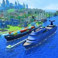 Sea Port: Simulador de Cidades e Navios on 9Apps