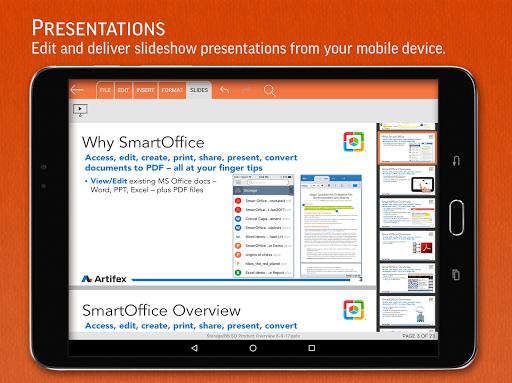 SmartOffice - View & Edit MS Office files & PDFs screenshot 12