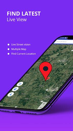 Live Street Map View 2021 - Earth Navigation Maps screenshot 4