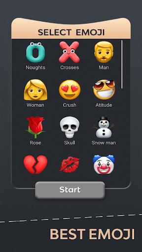 Tic Tac Toe Emoji - Online & Offline 7 تصوير الشاشة