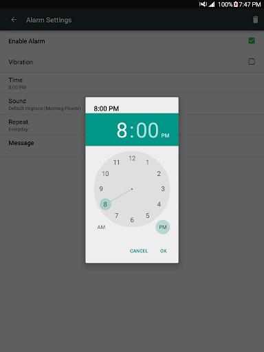 New Alarm: Clock with Holidays 6 تصوير الشاشة