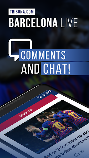 Barcelona Live — Not official app for FC Barca Fan screenshot 1