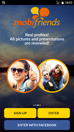 Mobifriends - Free dating 3 تصوير الشاشة