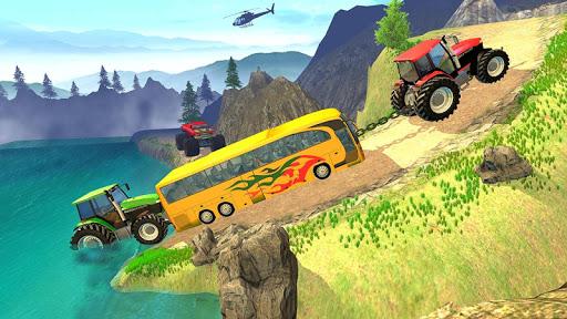 Tractor Pull Simulator Drive: Tractor Game 2020 screenshot 1