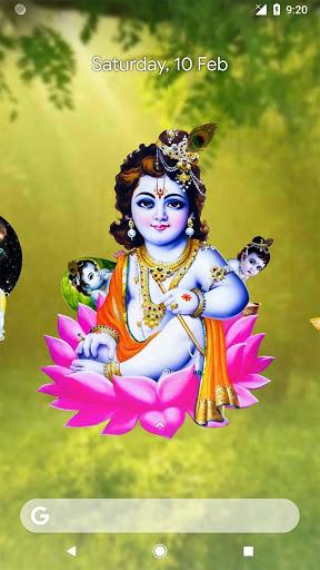 4D Little Krishna App & Live Wallpaper screenshot 5