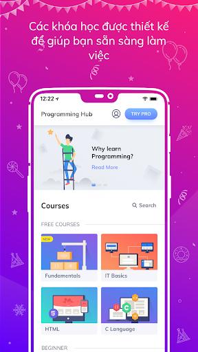Programming Hub: Học viết mã screenshot 1
