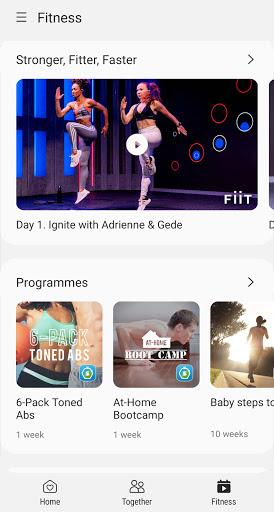 Samsung Health 3 تصوير الشاشة