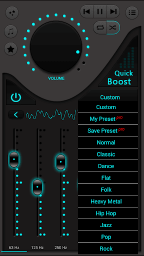 Bass Booster screenshot 2