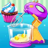 Cupcake Maker - Cooking Game on 9Apps