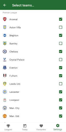 GoalAlert - The fastest football app 8 تصوير الشاشة