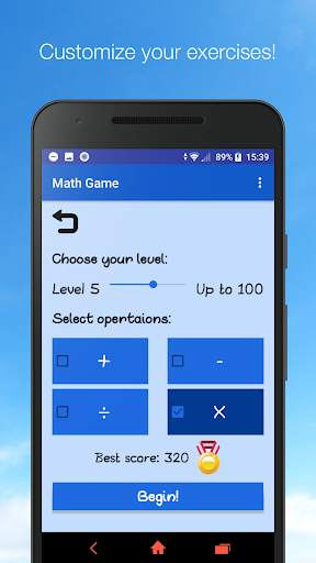 Math Game - Unlimited Math Practice screenshot 3