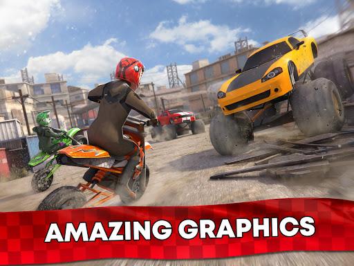 Free Motor Bike Racing - Fast Offroad Driving Game screenshot 18