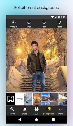 Men Winter Jacket Suit screenshot 4