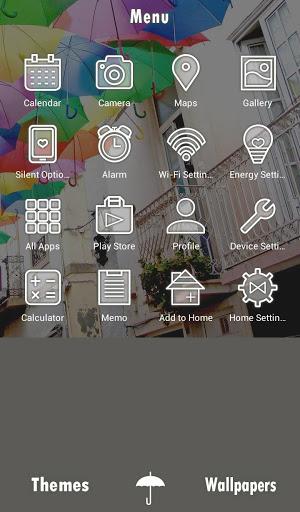 خلفيات وأيقونات Umbrella Sky 2 تصوير الشاشة