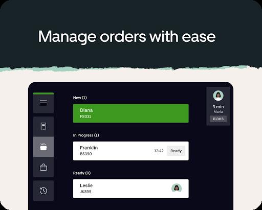 Uber Eats для ресторанов скриншот 8