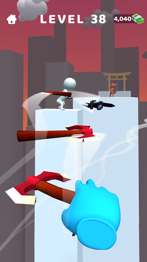 Sword Play! Ninja Slice Runner 3D screenshot 5