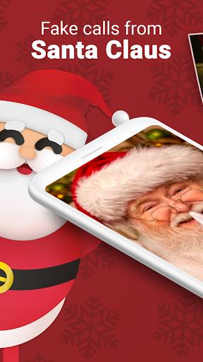 Fake Call from Santa - Talk to Santa Claus Prank screenshot 1