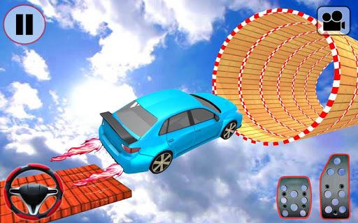 Car Stunt Ramp Race - Impossible Stunt Games screenshot 2