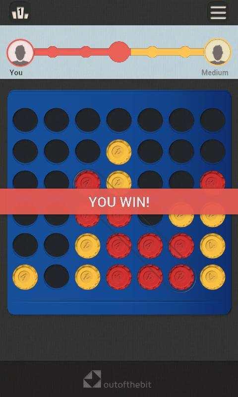 Four In A Row - Classic Board Games screenshot 2