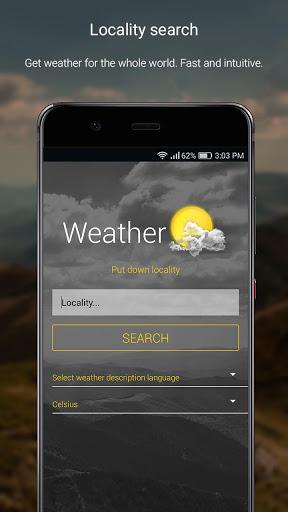 الطقس لمدة 16 يوما 2 تصوير الشاشة
