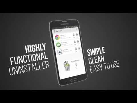 App Eater (Uninstaller) 1 تصوير الشاشة