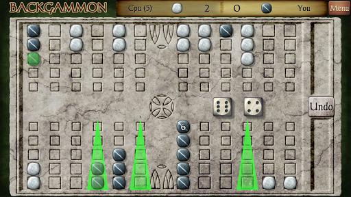 Backgammon Free 7 تصوير الشاشة