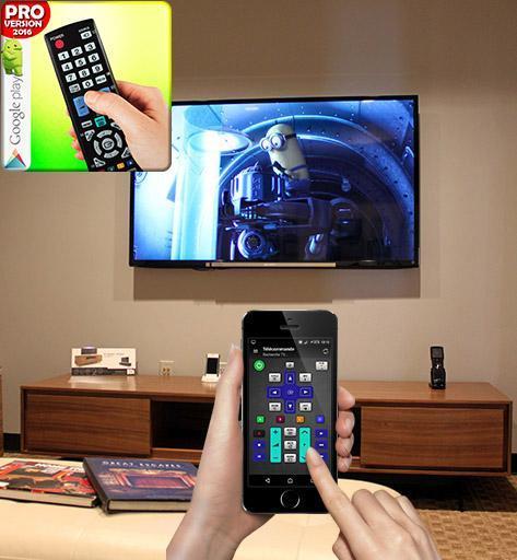 Tv remote control 2 تصوير الشاشة