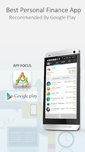 AndroMoney ( Expense Track ) screenshot 1