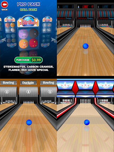 Strike! Ten Pin Bowling 25 تصوير الشاشة