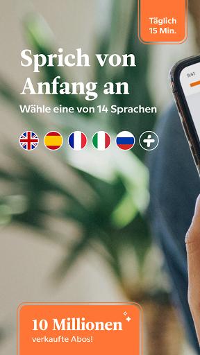 Babbel – Sprachen lernen – Englisch, Spanisch & Co screenshot 1