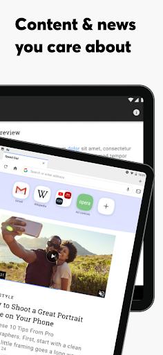 Opera Browser: Fast & Private screenshot 12