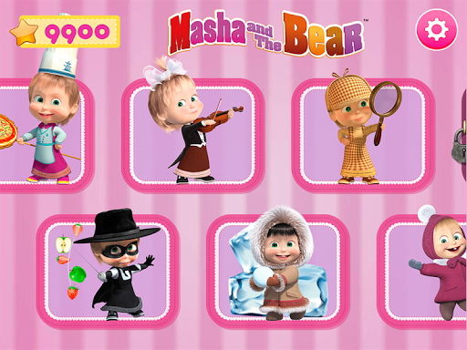 Masha and the Bear. Games & Activities स्क्रीनशॉट 1