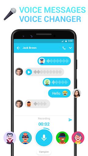 Messenger - Messages, Texting, Free Messenger SMS 2 تصوير الشاشة
