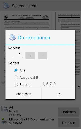 PrinterShare Mobiles Drucken screenshot 5