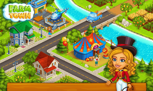 Farm Town: Happy farming Day & food farm game City screenshot 24