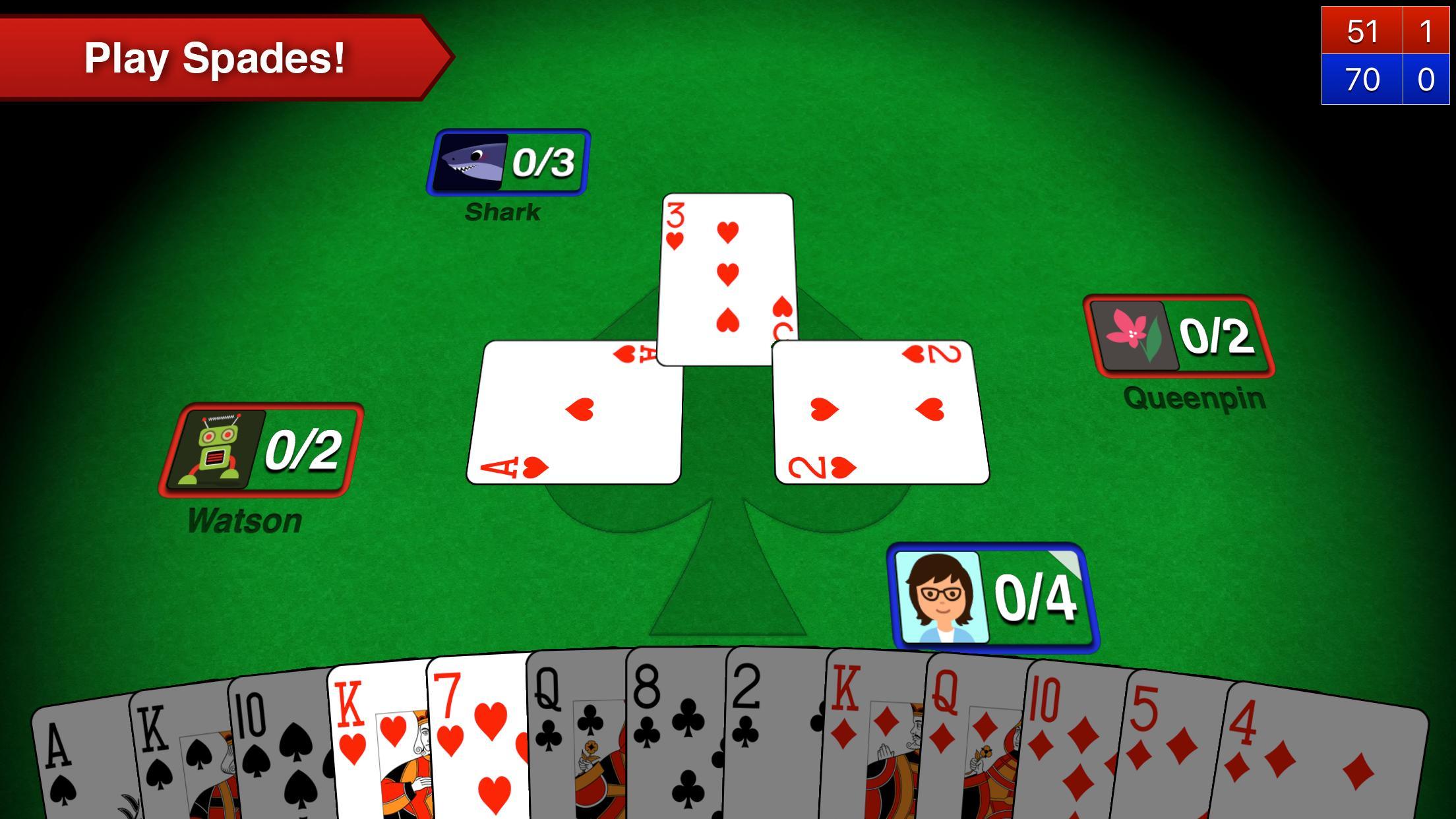 Spades + 1 تصوير الشاشة