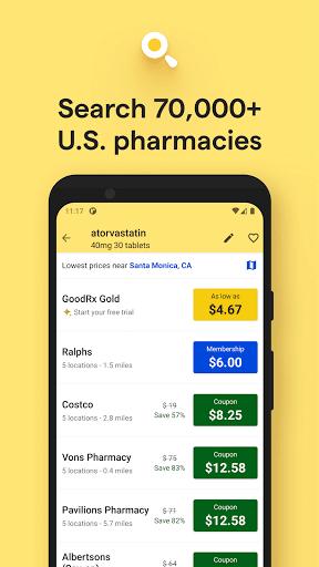 GoodRx: Prescription Drugs Discounts & Coupons App 4 تصوير الشاشة