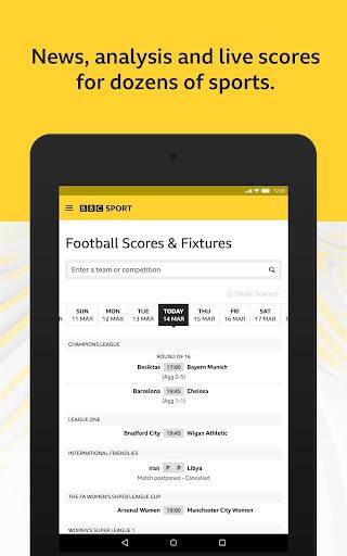 BBC Sport - News & Live Scores 10 تصوير الشاشة