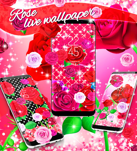 2021 Roses live wallpaper screenshot 6