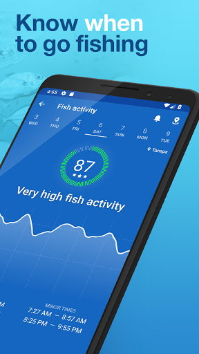 Fishing Points: GPS, Tides & Fishing Forecast 2 تصوير الشاشة