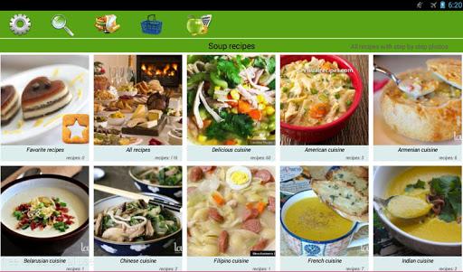 Soup recipes 5 تصوير الشاشة