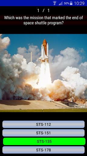 Astronautic Quiz 6 تصوير الشاشة