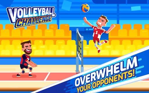 Volleyball Challenge - volleyball game screenshot 7