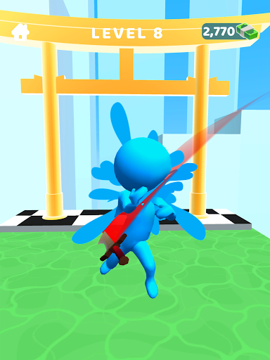Sword Play! Ninja Slice Runner 3D screenshot 10
