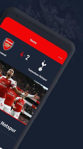 Arsenal Official App 2 تصوير الشاشة