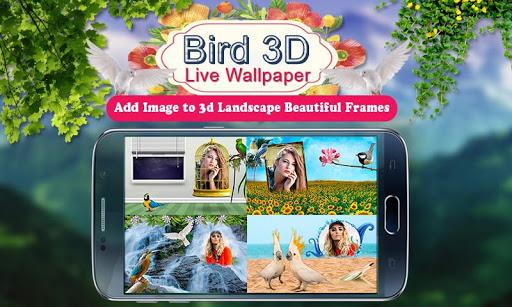 Birds 3D Live Wallpaper 6 تصوير الشاشة