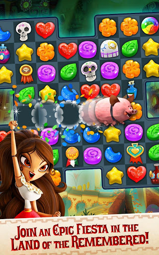 Sugar Smash: Book of Life - Free Match 3 Games. screenshot 8