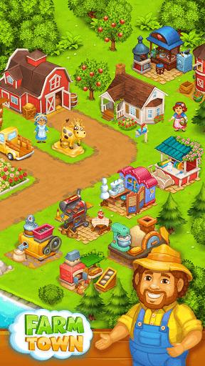 Farm Town: Happy farming Day & food farm game City screenshot 2